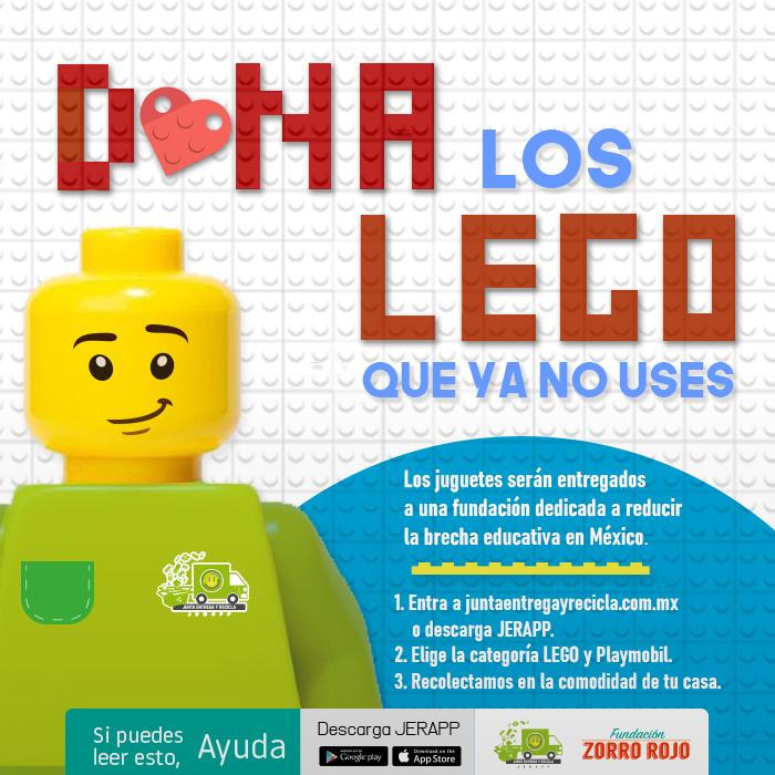 LOS BLOQUES DE LEGO DEJARÁN DE CONTAMINAR CON ESTA SOLUCIÓN SOCIAL Y AMBIENTAL.